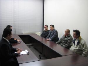 外務省担当官との会談