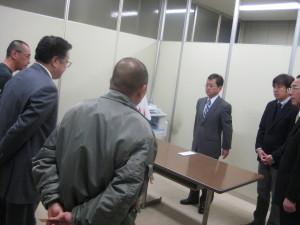 内閣府担当官との会談